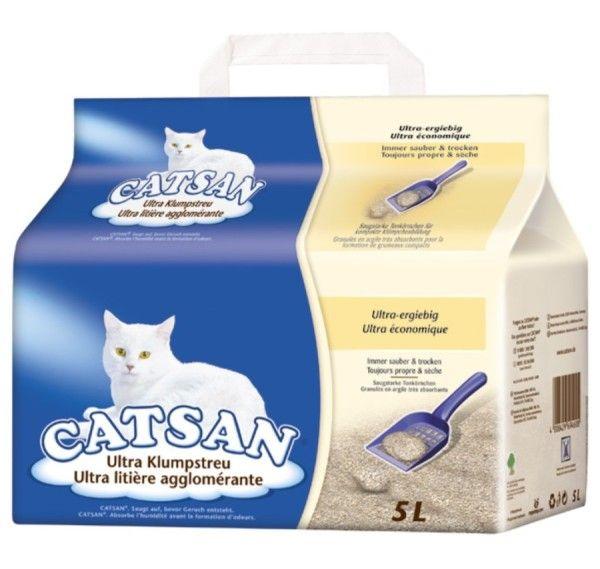 Наповнювач для котячого туалету Catsan