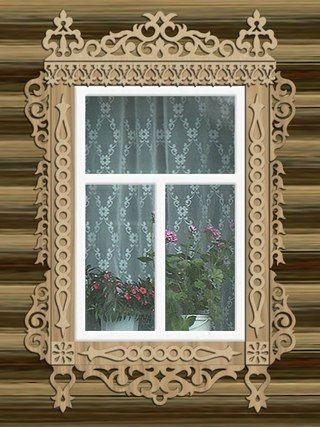 Різьблені лиштви на вікна своїми руками шаблони