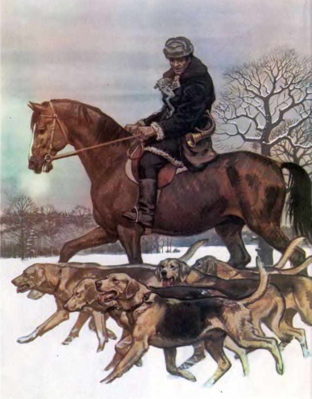 Російський гончак - мрія будь-якого мисливця