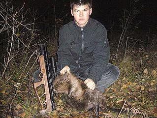 Рушнична полювання на бобра