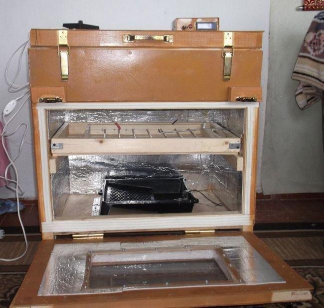Оригінальний інкубатор з валізи
