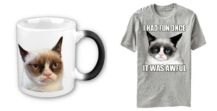 Grumpy Cat - сердитий кіт