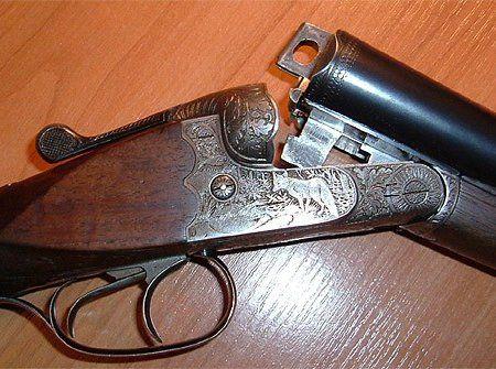 Складові частини рушниці