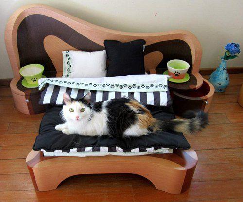 Спальня для пухнастих вихованців