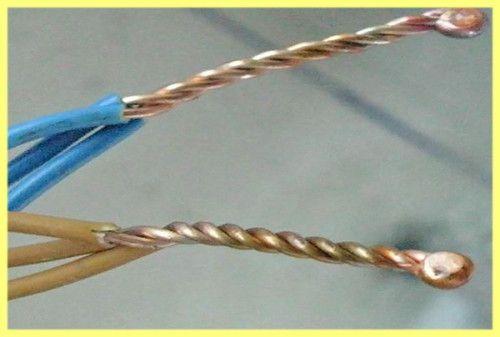 Способи з`єднання проводів між собою