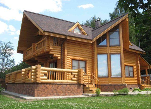 Будівництво будинків з оциліндрованих колод під ключ проекти і ціни