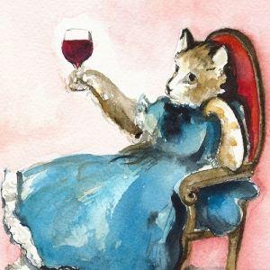 В Японії новий тренд - вино для кішок