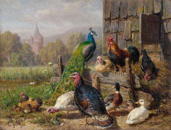 Картина «Пташиний двір»