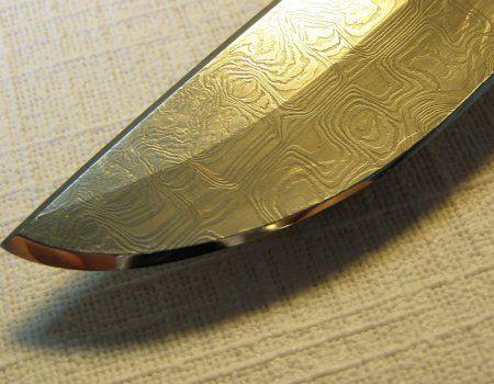 Заточка мисливського ножа